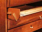 Drop-Down Drawer Front